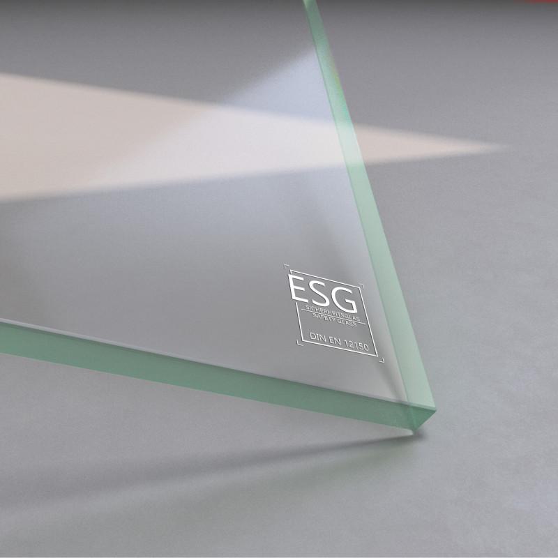 10 mm ESG Glas