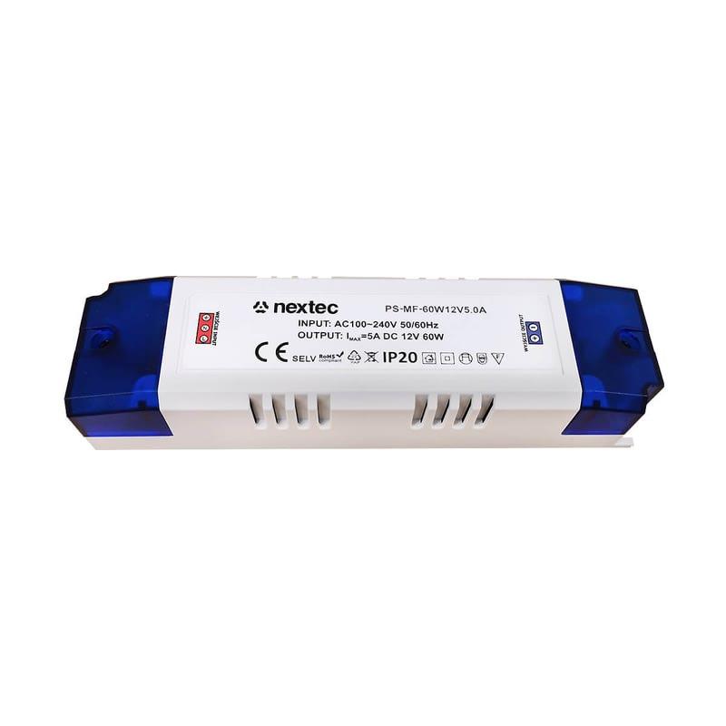 12 Volt LED Trafo - 60 Watt Treiber