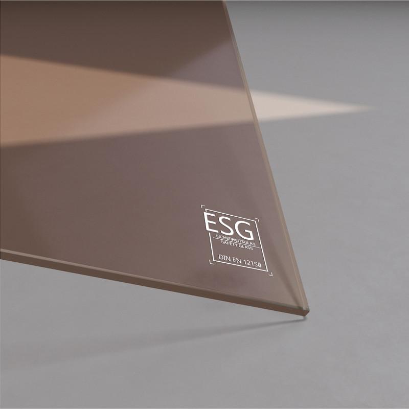 4 mm Bronze ESG Glas Parsol®