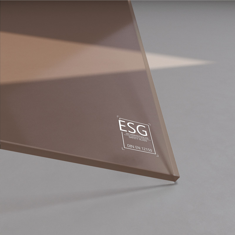 6 mm Bronze ESG Glas Parsol®