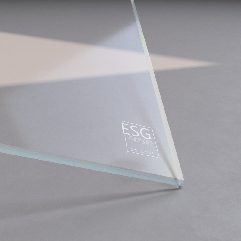 6 mm ESG Weißglas