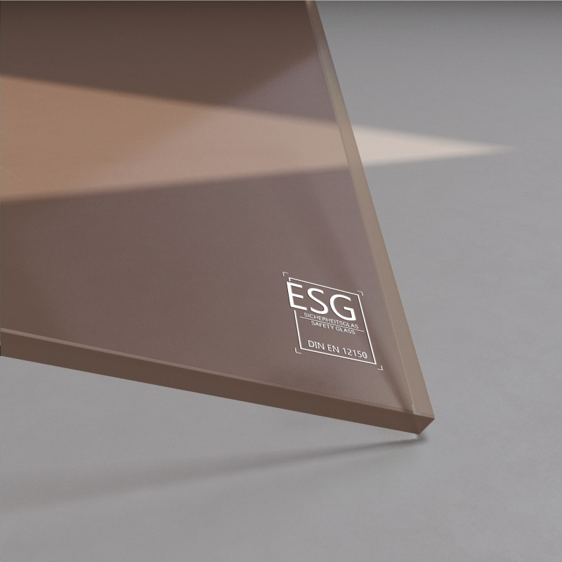 8 mm Bronze ESG Glas Parsol®