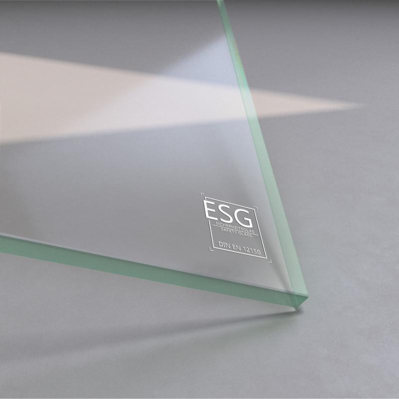 8 mm ESG Glas