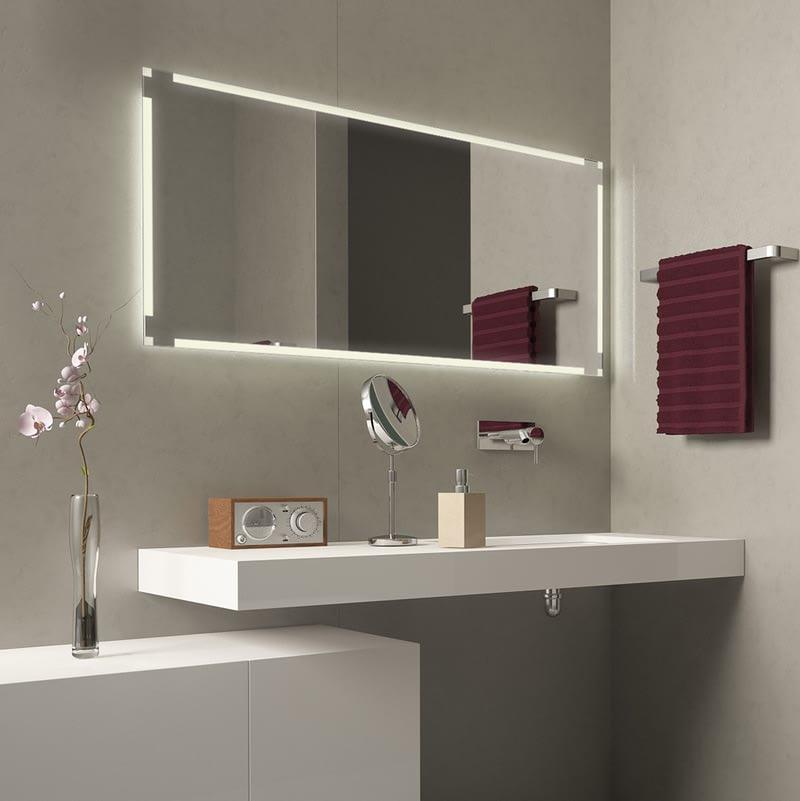 Badezimmerspiegel beleuchtet Brolin