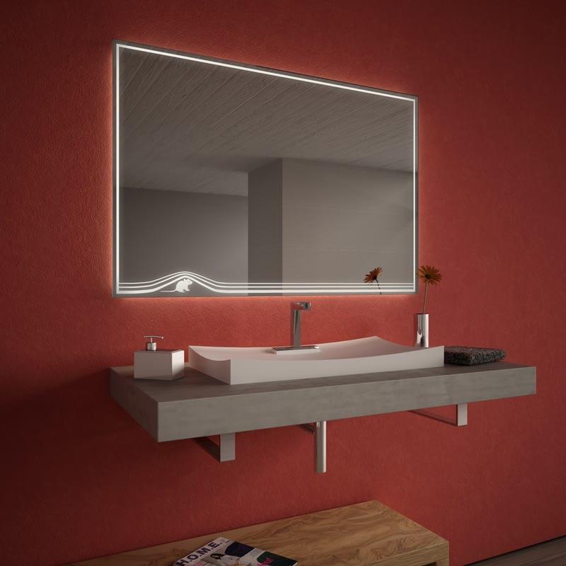 Badezimmerspiegel beleuchtet Lightmouse