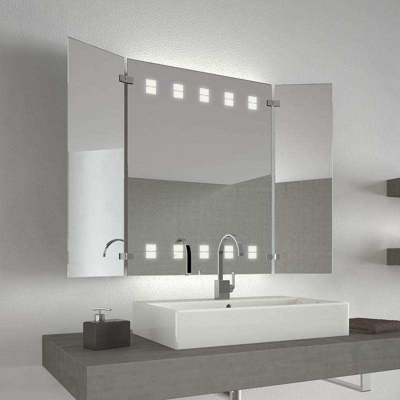 Badezimmerspiegel mit Licht Louren Two