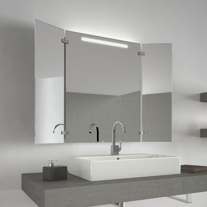 Badezimmerspiegel mit Licht Lund