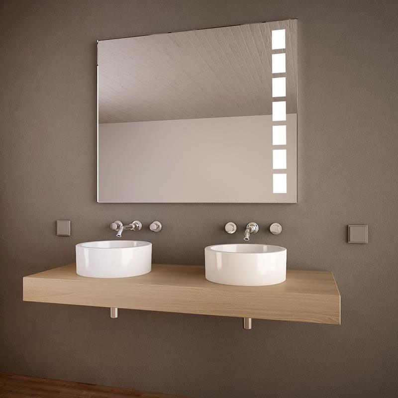 Badspiegel mit Licht Quattro