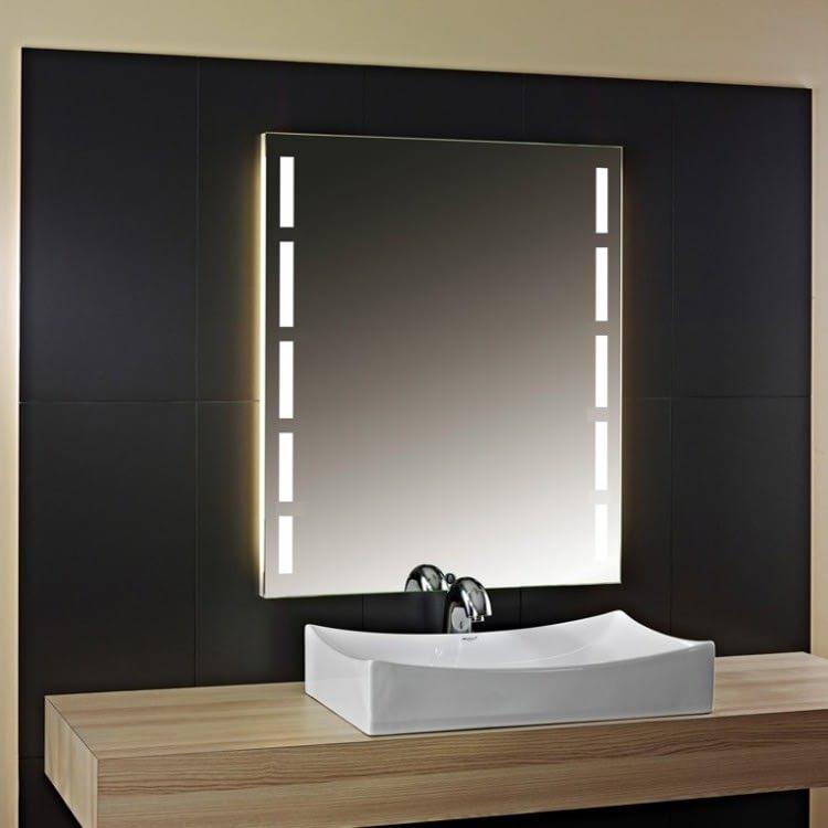 Badspiegel mit Licht Vena