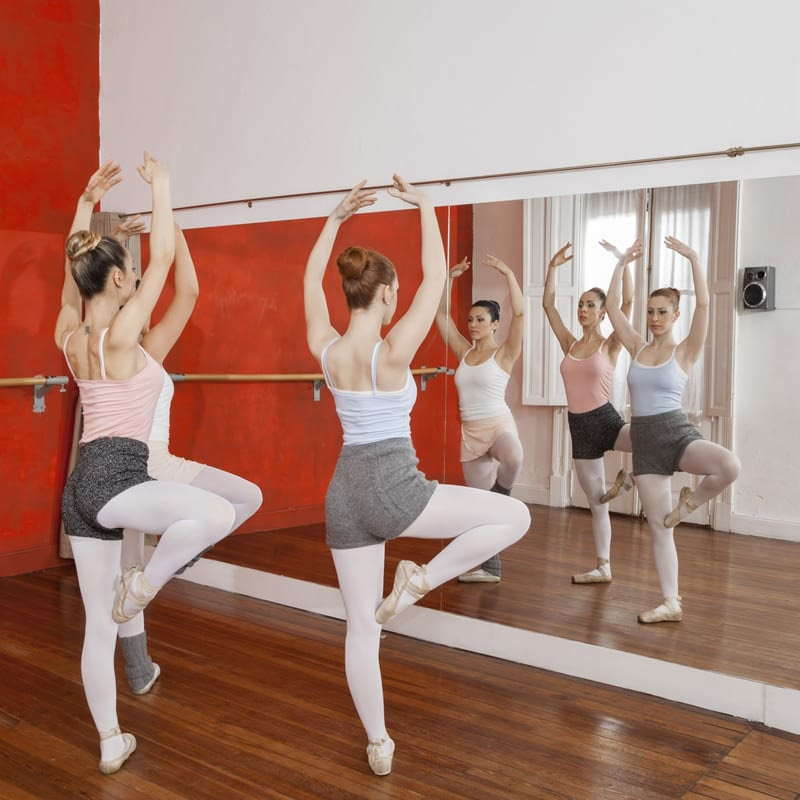 Ballettspiegel für Ballettschulen nach Maß