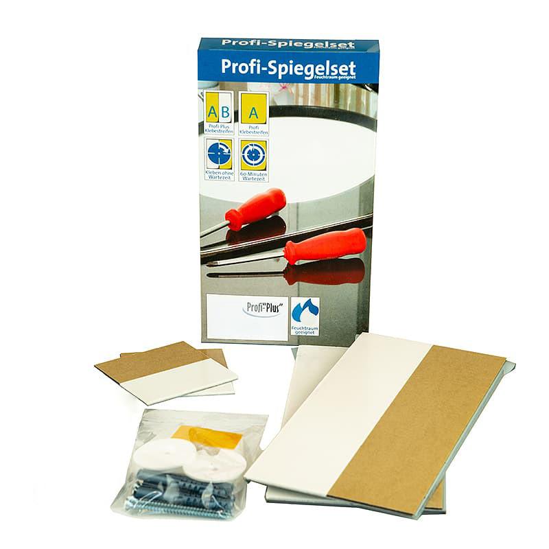 Befestigungsset für Beleuchtete Spiegel bis 1,6m²