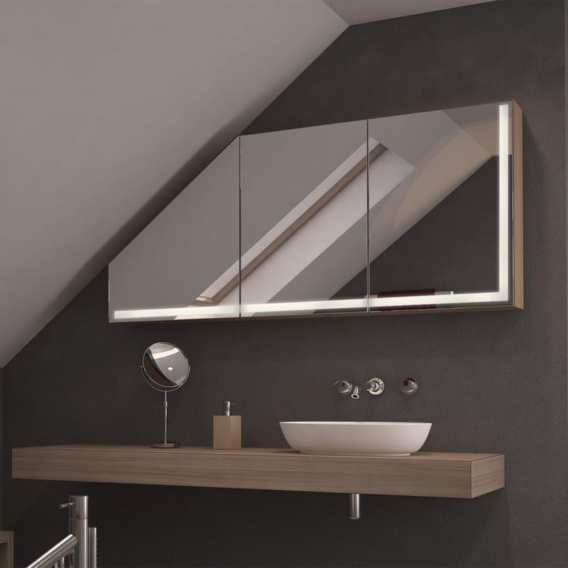 Dachschrägen-Spiegelschrank Artimo