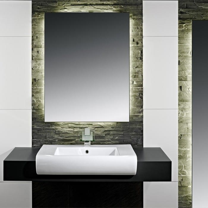Hinterleuchteter Badspiegel LED Ilumiled