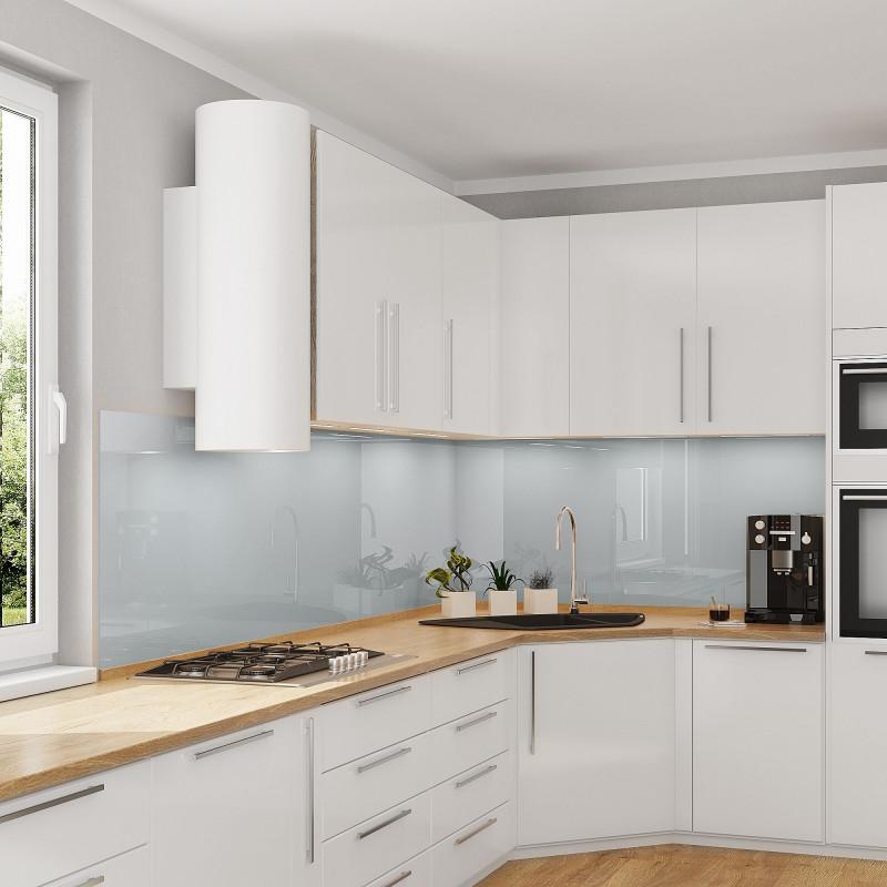 Küchenrückwand - Hellgrau / Grau - REF 7035, 6mm