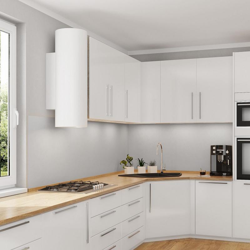 Küchenrückwand Milchglas-Optik 6 mm ESG Glas Satinato