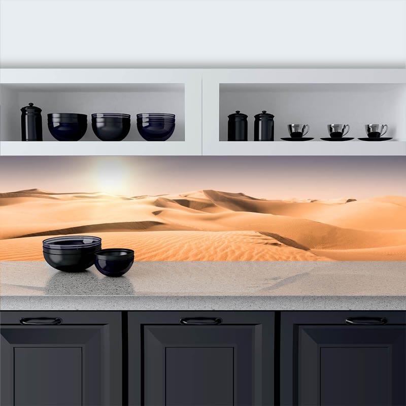 Küchenrückwand aus Glas Sahara