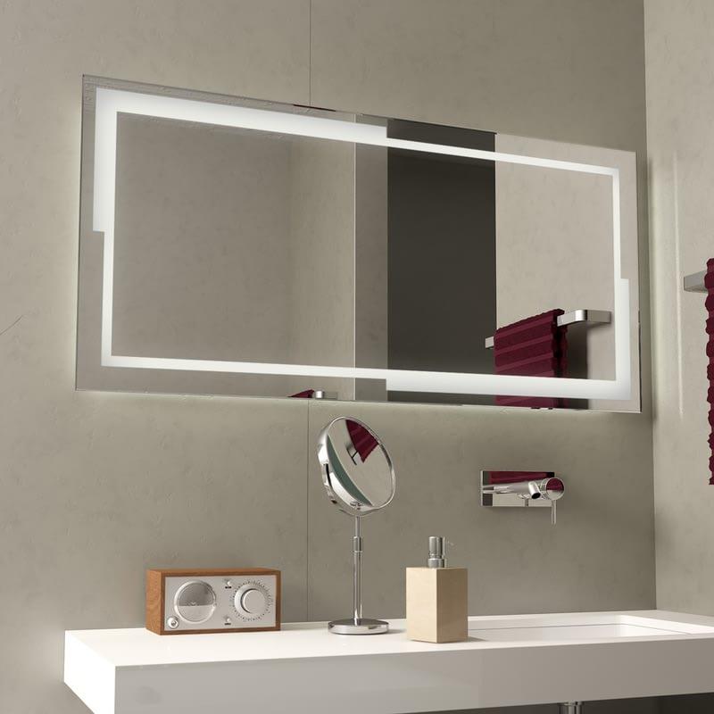 LED-Badspiegel beleuchtet Bayramo