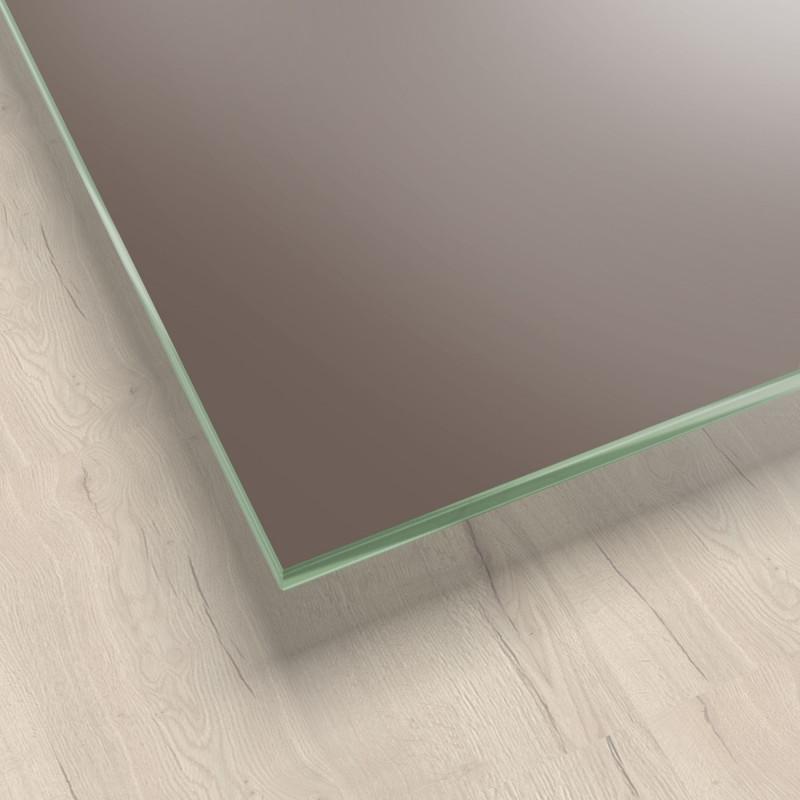 Lackiertes Glas - Braun / Mittelbraun - REF 7013, 6mm