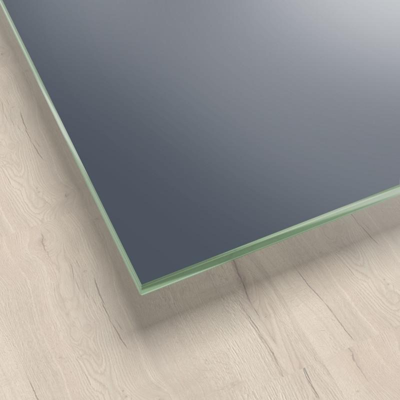 Lackiertes Glas - Grau / Anthrazit - REF 7016, 6mm