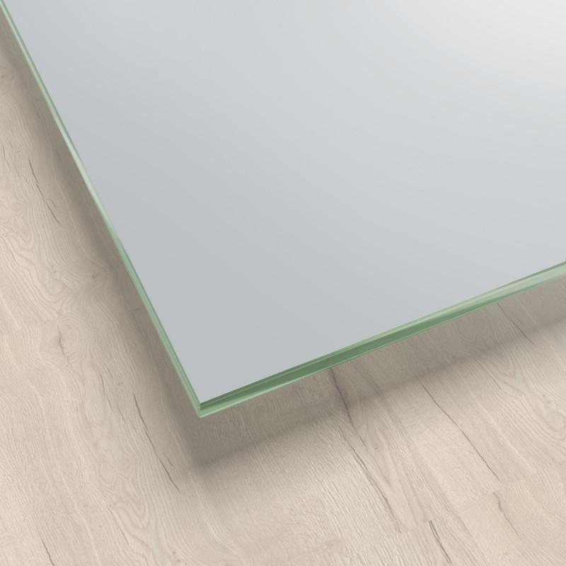 Lackiertes Glas - Grau / Lichtgrau - REF 7035, 6mm