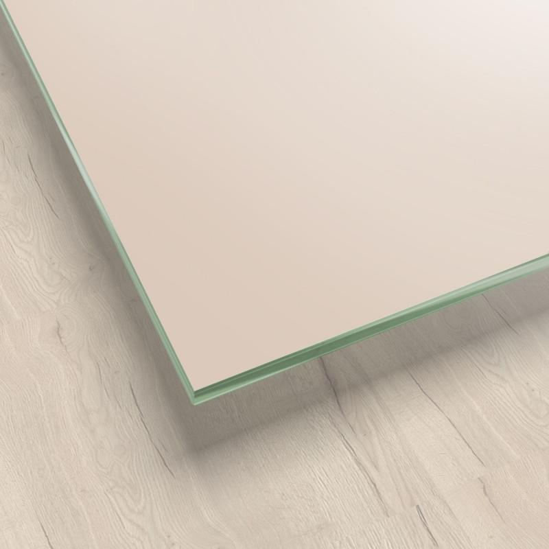 Lackiertes Glas - Hell-Beige - REF 1015, 6mm