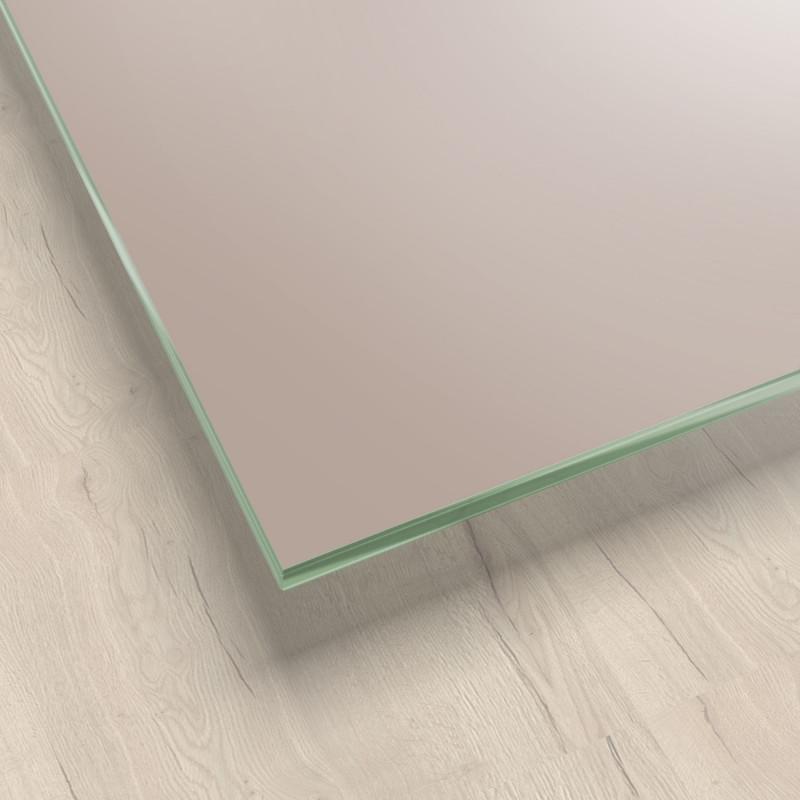 Lackiertes Glas - Hell-Braun / Macchiato REF 1236, 6mm