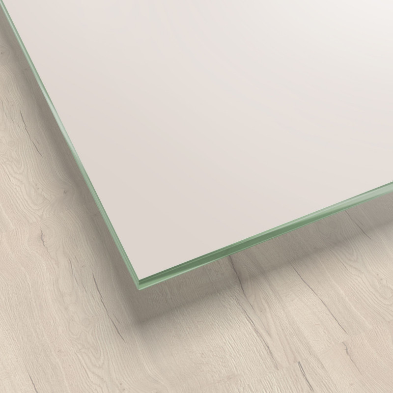 Lackiertes Glas - Taupe Metal - REF 0627, 6mm