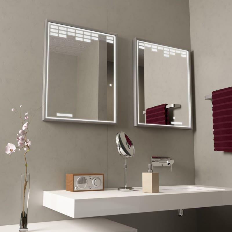 Moderner Spiegel mit Alurahmen Arkanoia