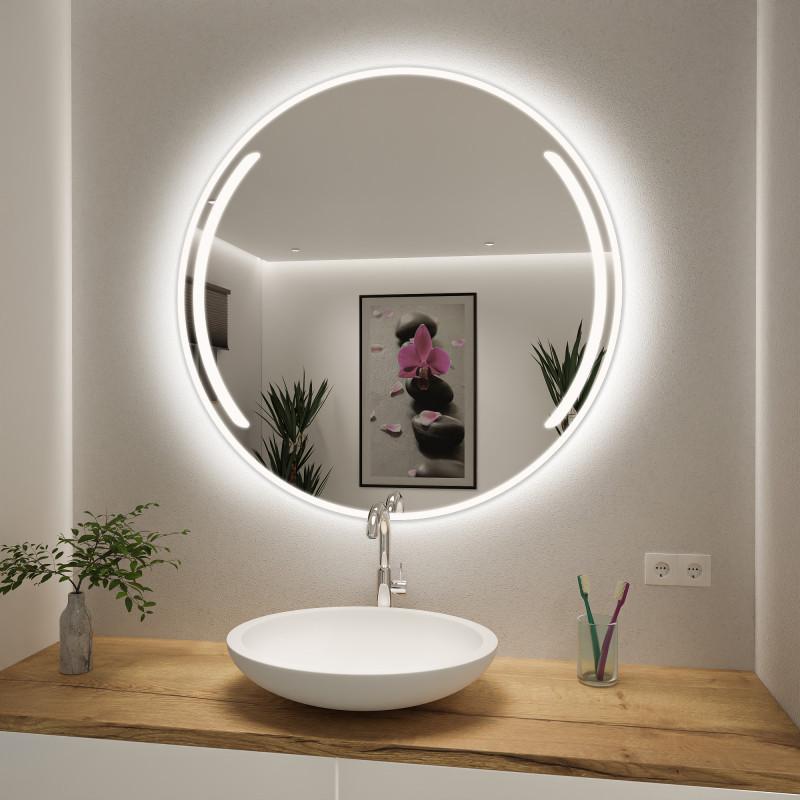 Runder Spiegel mit LED nach Maß Loui