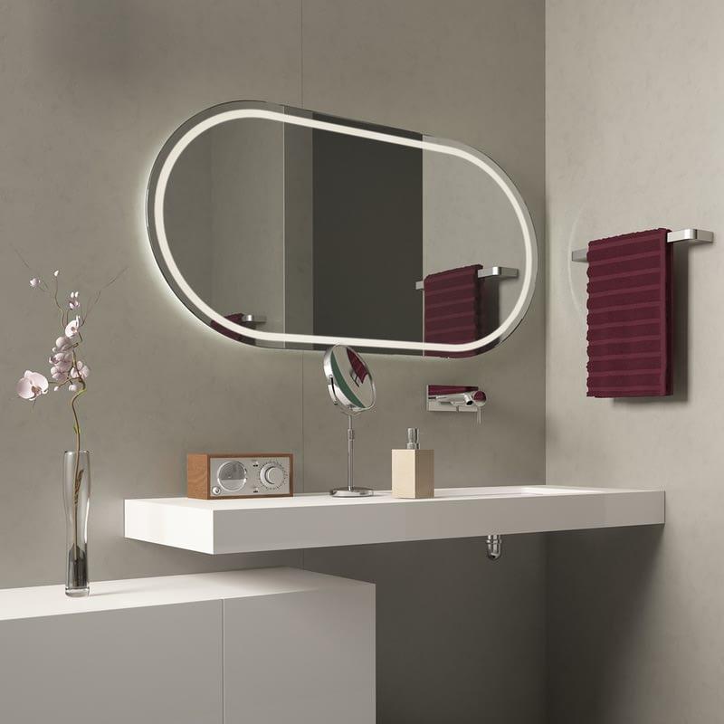 Spiegel LED Rondovaro