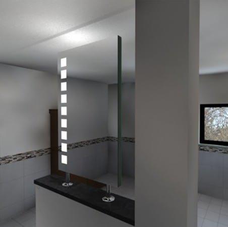 Spiegel Raumteiler Amata