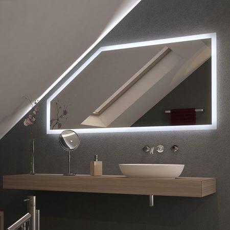 Spiegel für Dachschrägen mit LED Beleuchtung – Framo