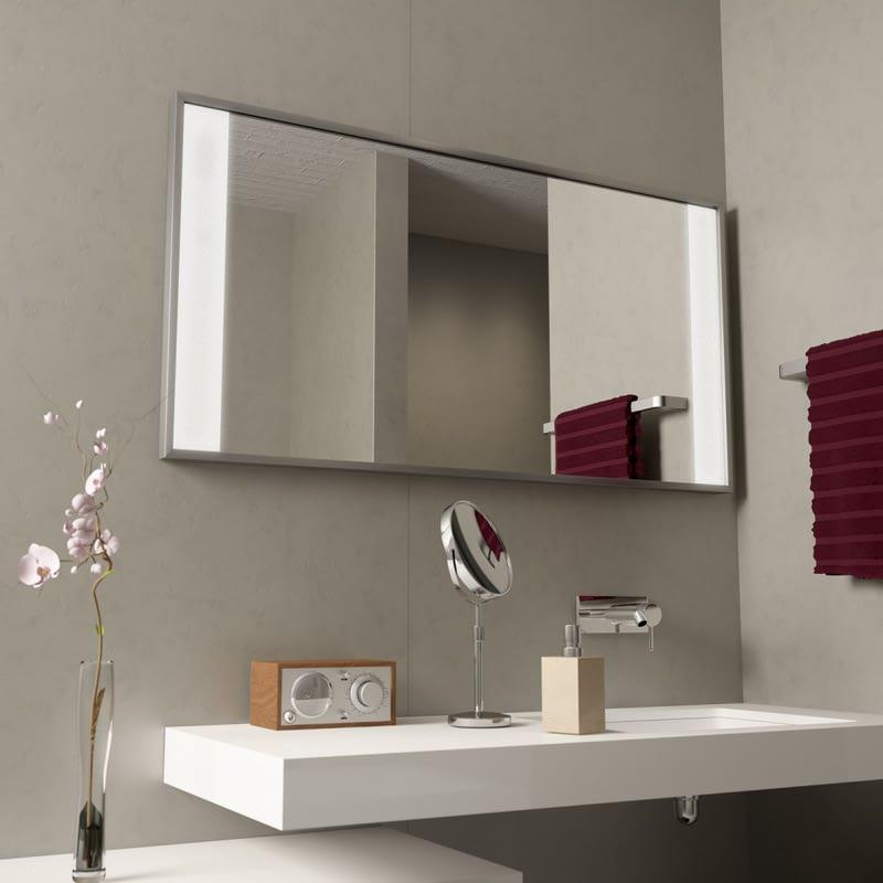 Spiegel mit Aluminiumrahmen Miro