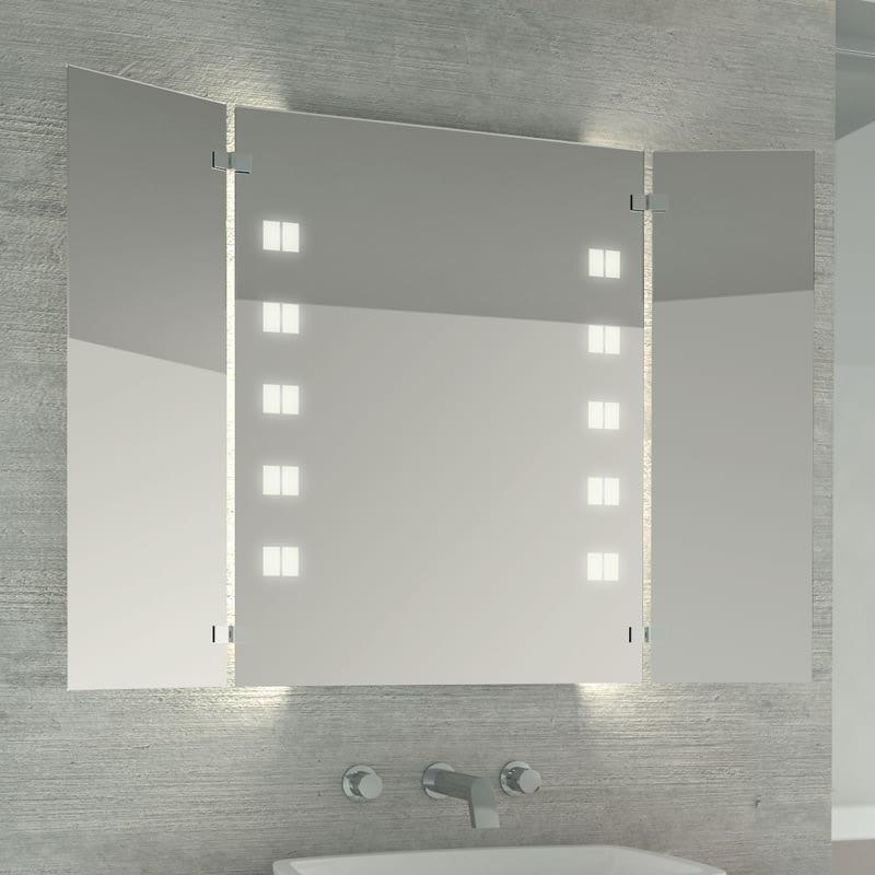 Spiegel mit Beleuchtung Louren