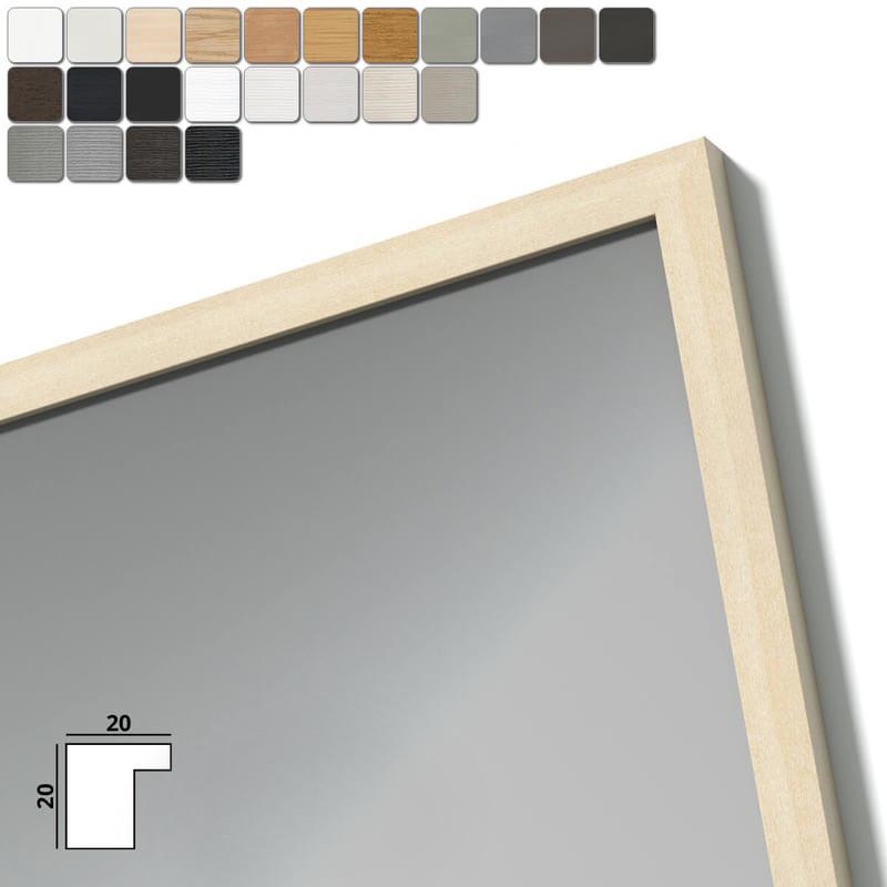 Spiegel mit Holzrahmen nach Maß - Inn
