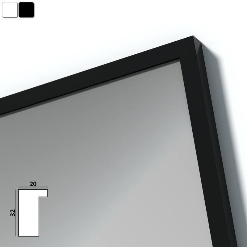 Spiegel mit Holzrahmen nach Maß - Isar