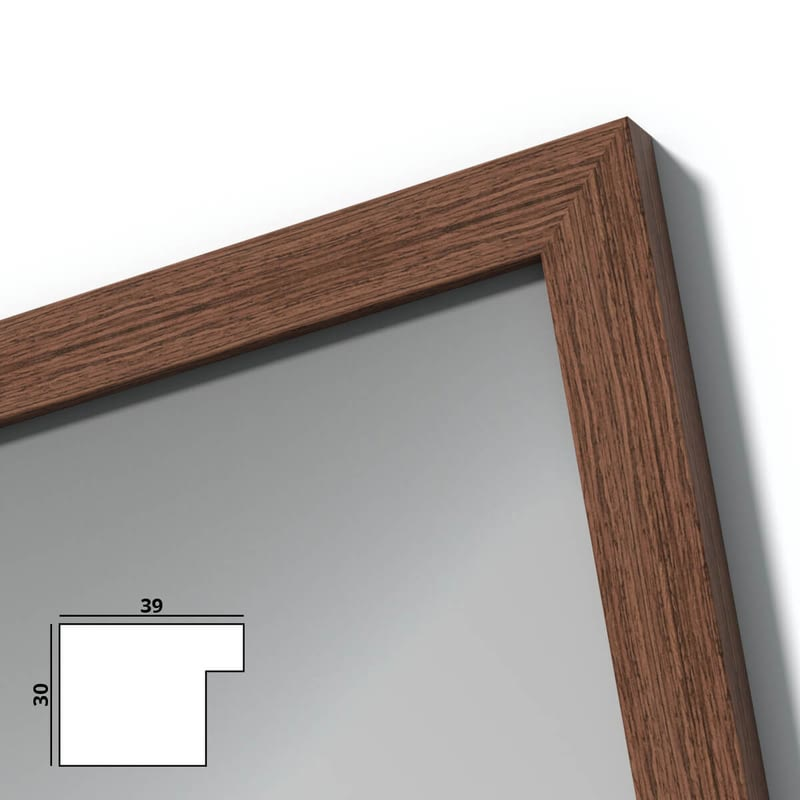 Spiegel mit Holzrahmen nach Maß - Loire