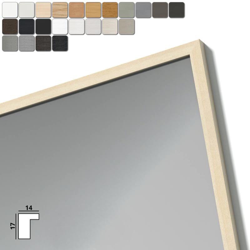 Spiegel mit Holzrahmen nach Maß - Maas