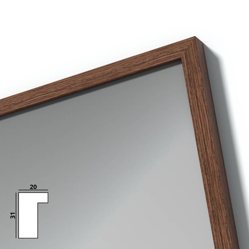 Spiegel mit Holzrahmen nach Maß - Seine