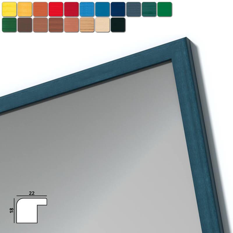 Spiegel mit Holzrahmen nach Maß - Themse