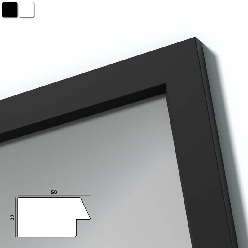 Spiegel mit Holzrahmen nach Maß - Weichsel
