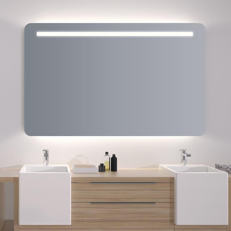 Spiegel mit abgerundeten Ecken Corina