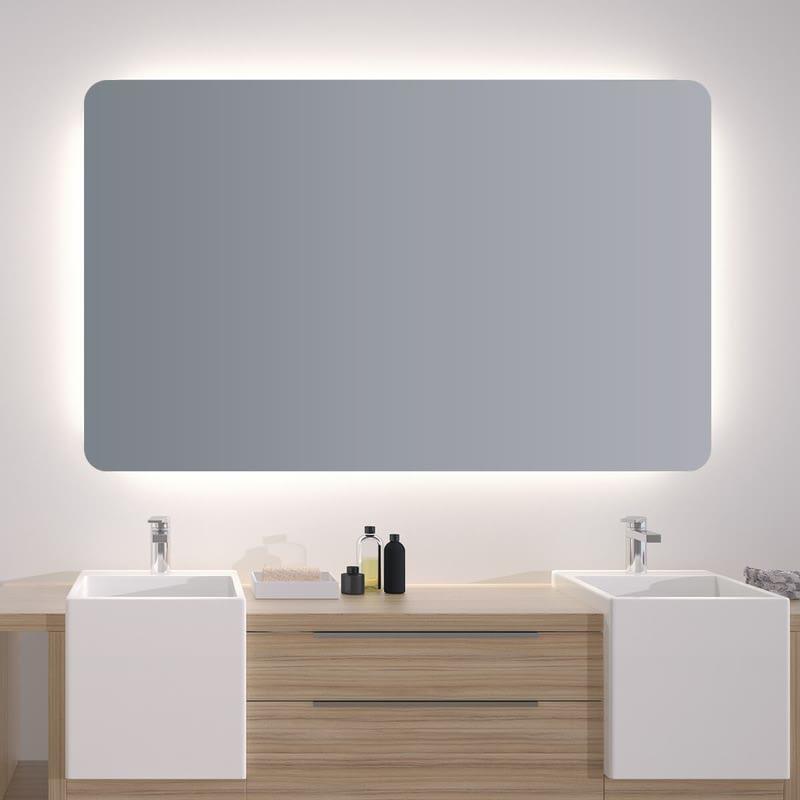 Spiegel mit abgerundeten Ecken Cosmine