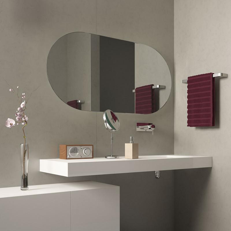 Spiegel ohne Beleuchtung Omgang