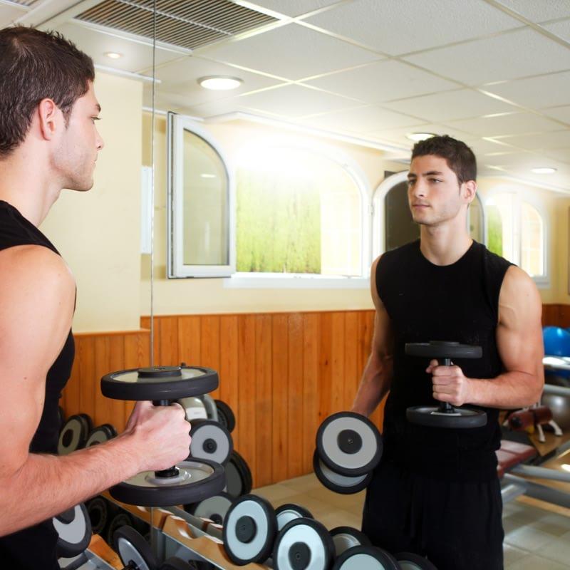 Sport- & Fitness Spiegel nach Maß
