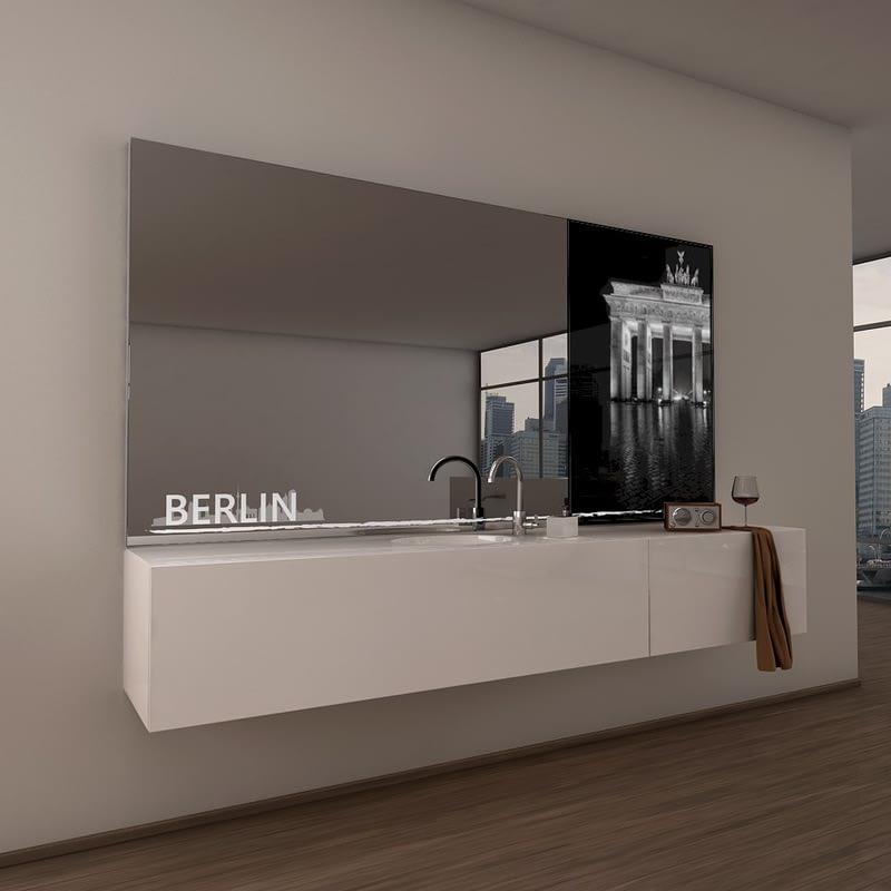 Teil-Lack-Wandspiegel Berlin