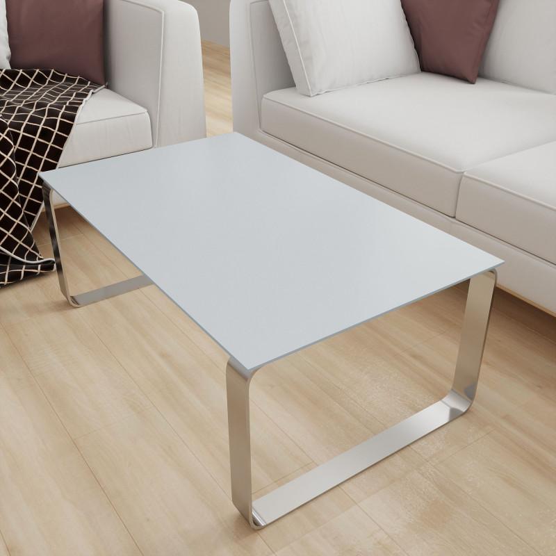 Tischplatte Glas Hell-Grau - REF 7035, 6 mm