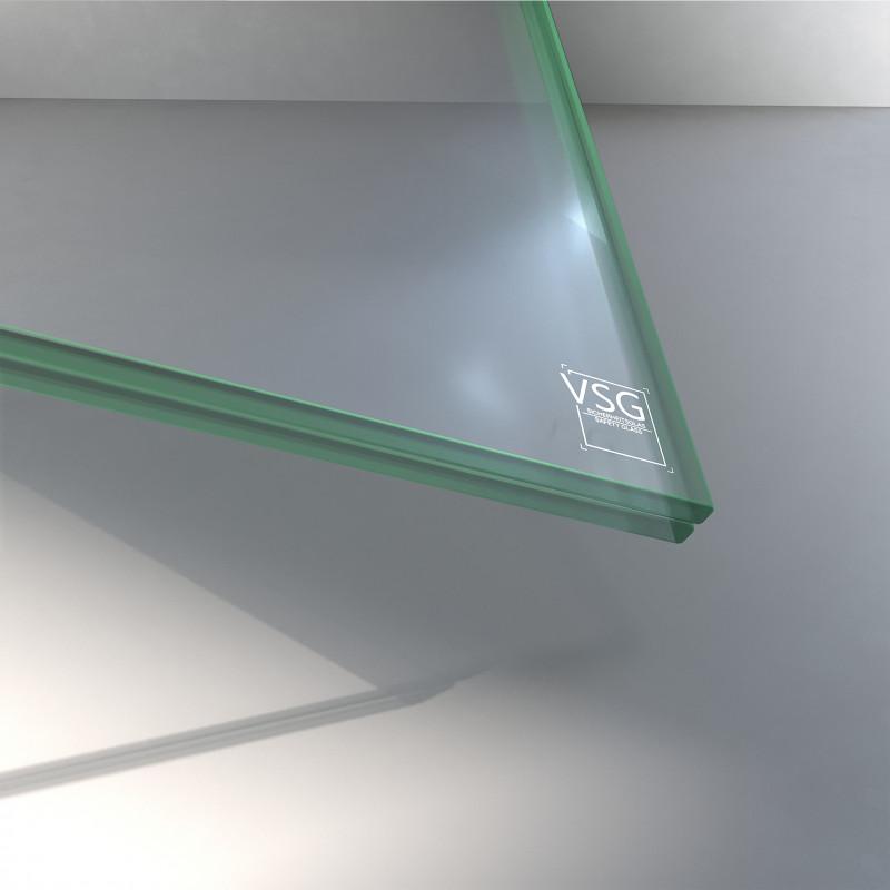VSG aus ESG Glas 10,76 mm klar