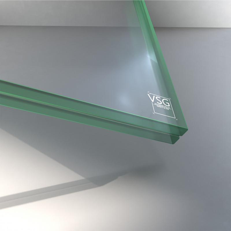 VSG aus ESG Glas 17,52 mm klar