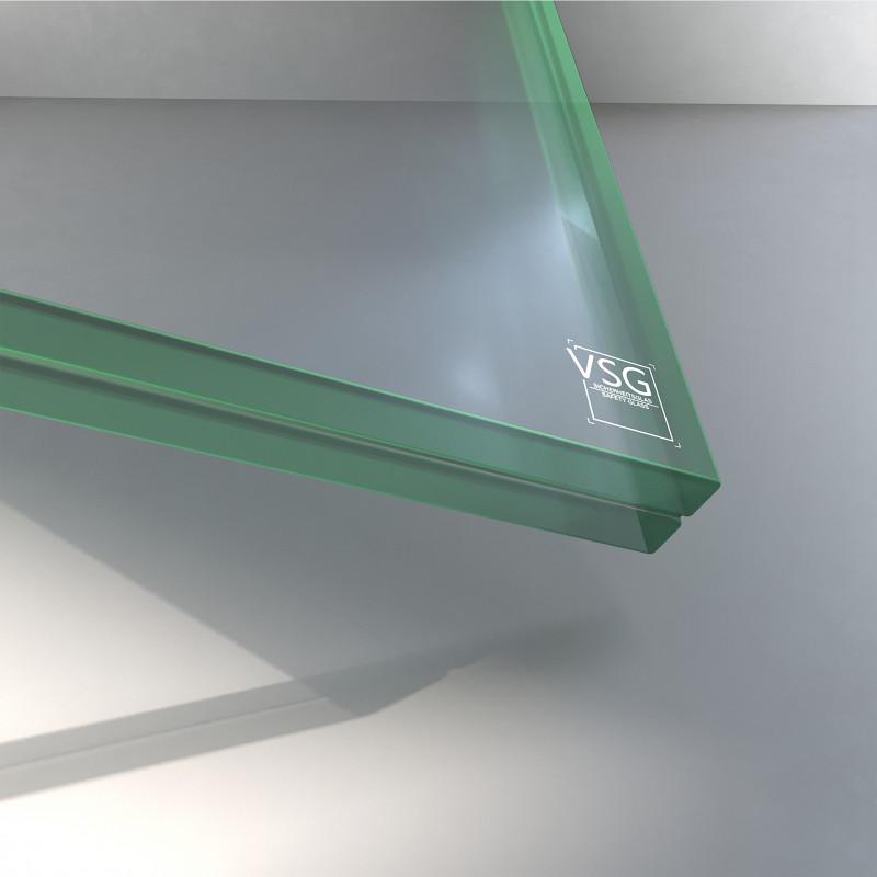 VSG aus ESG Glas 21,52 mm klar